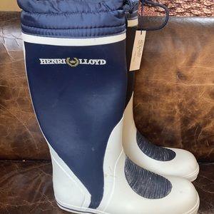 Henri Lloyd Rain/Sea/Storm/Yachting Boots 8